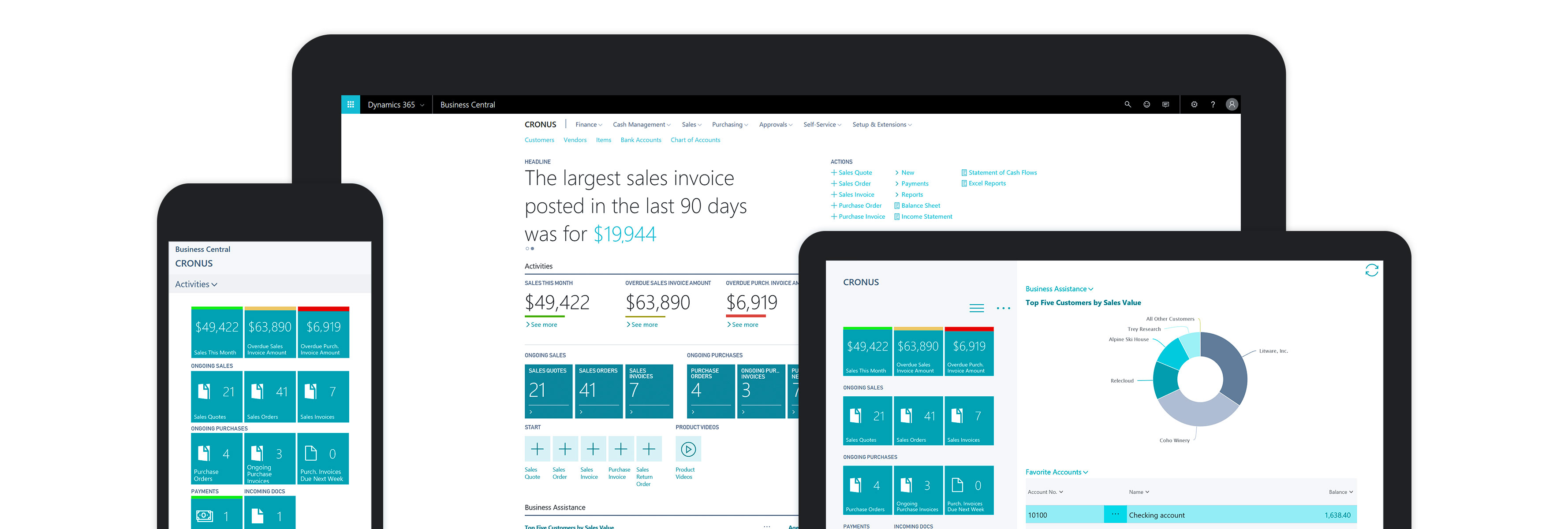 Microsoft Business Central API (Beta) – Create a sales order and sales order line through PowerApps/Flow